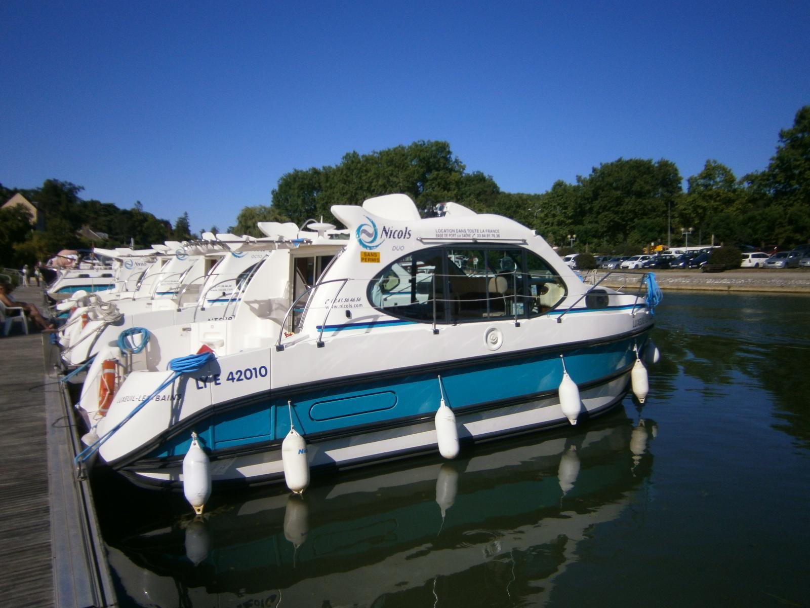 Urlaub auf dem Wasser in Frankreich