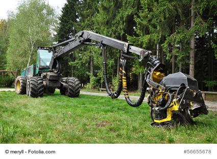 Forstmaschinen mieten